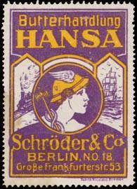 Butterhandlung Hansa