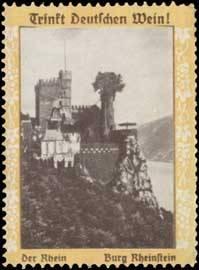 Burg Rheinstein am Rhein