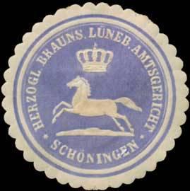 H. Braunschweig. L. Amtsgericht Schöningen