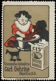 Kind mit CIS Waschmittel