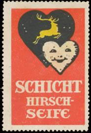Schicht Hirsch-Seife