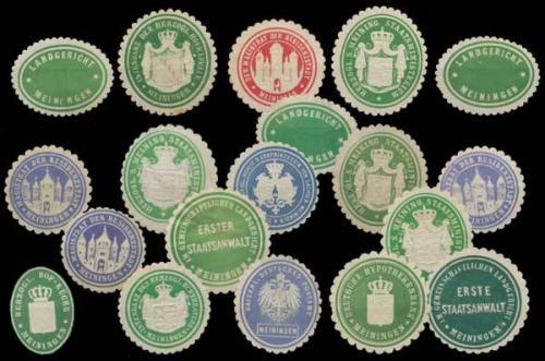 Meiningen Sammlung Siegelmarken