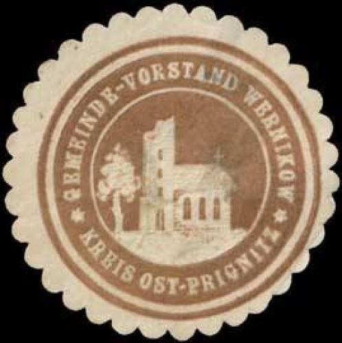 Gemeinde-Vorstand Wernikow Kreis Ost-Prignitz
