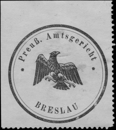 Pr. Amtsgericht Breslau