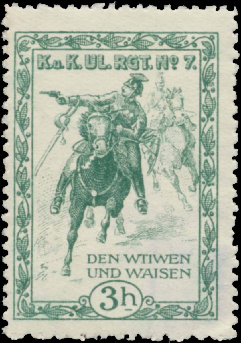 K.u.K. Ulanen Regiment Nr. 7, den Witwen und Waisen