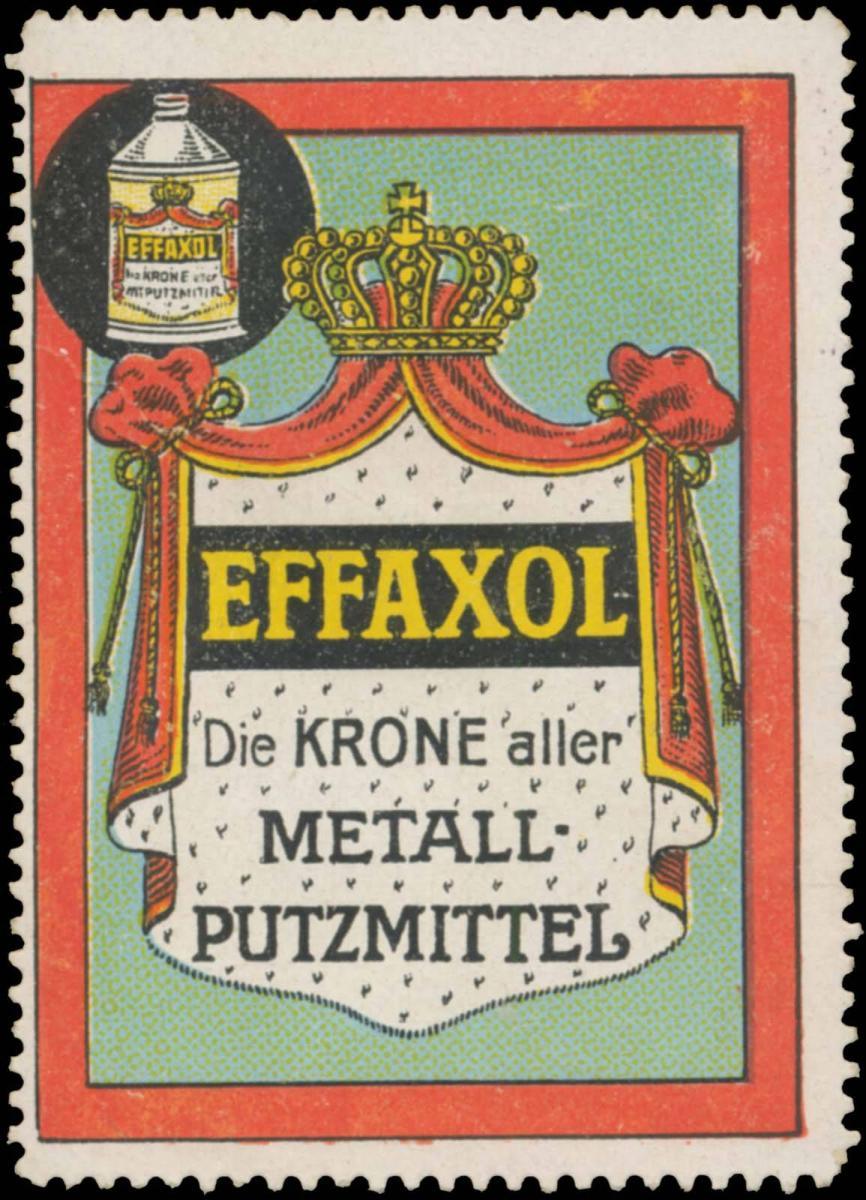Effaxol die Krone aller Metallputzmittel