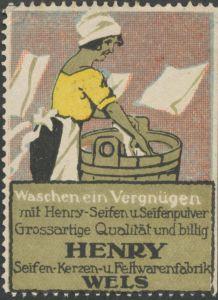 Waschen ein Vergnügen mit Henry-Seifen und Seifenpulver