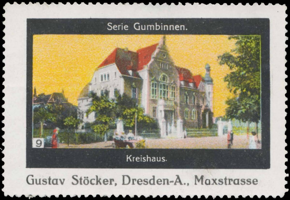 Kreishaus Gumbinnen