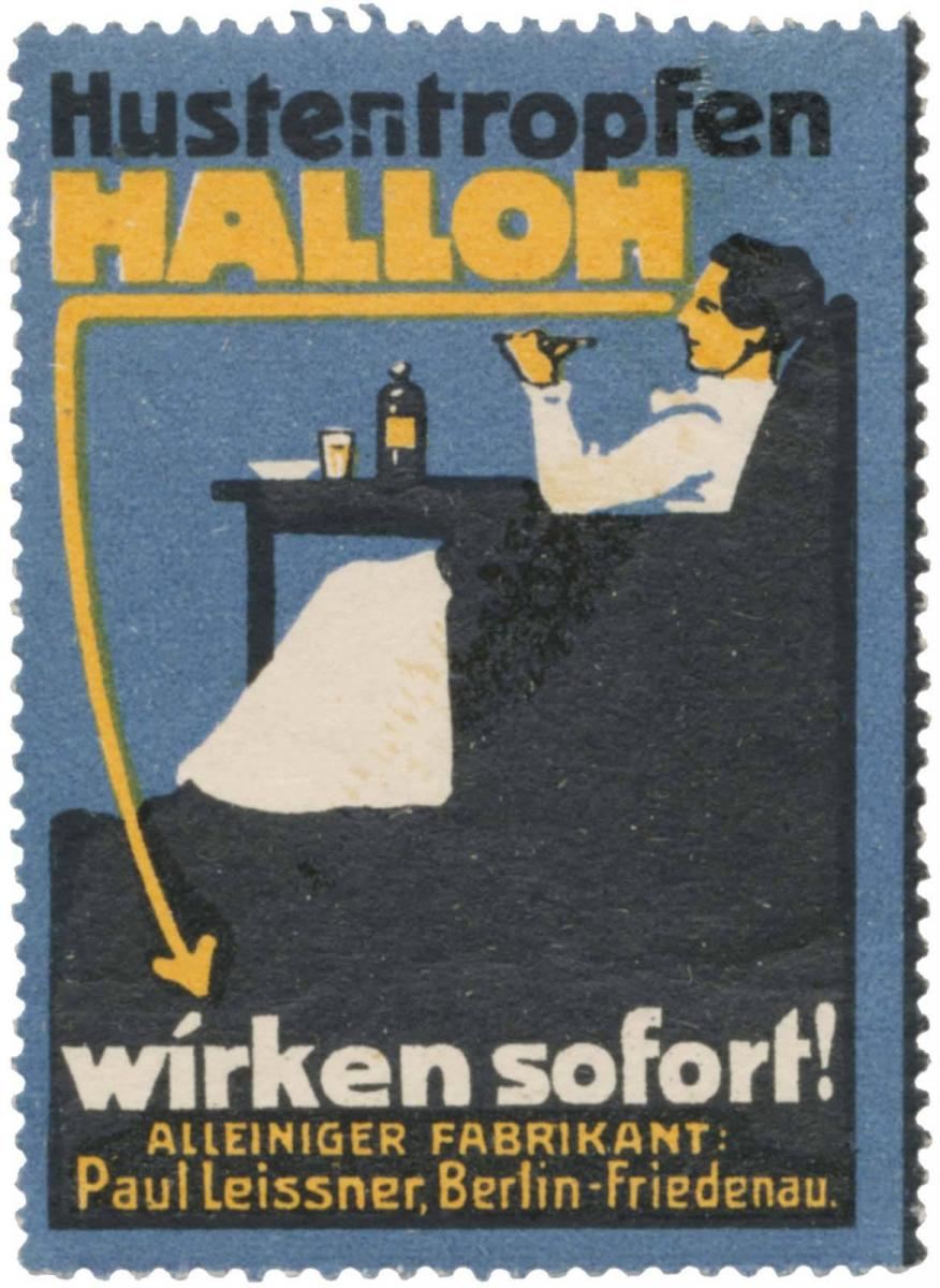 Hustentropfen Hallon wirken sofort