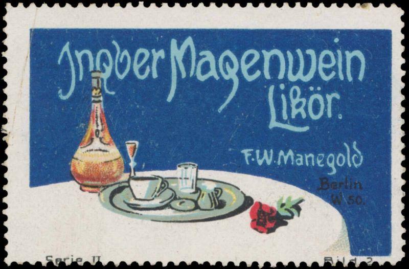 Ingwer Magenwein Likör
