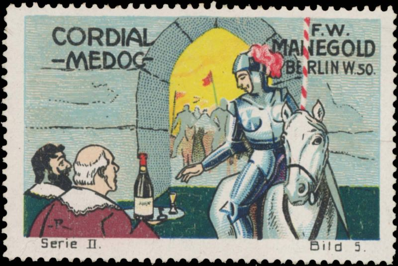 Cordial Medoc für den Ritter