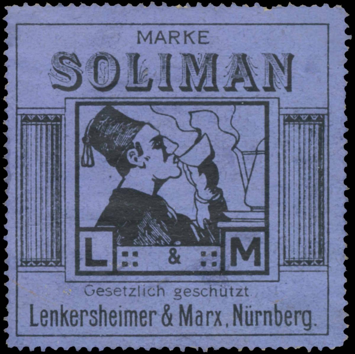 Tee Marke Soliman