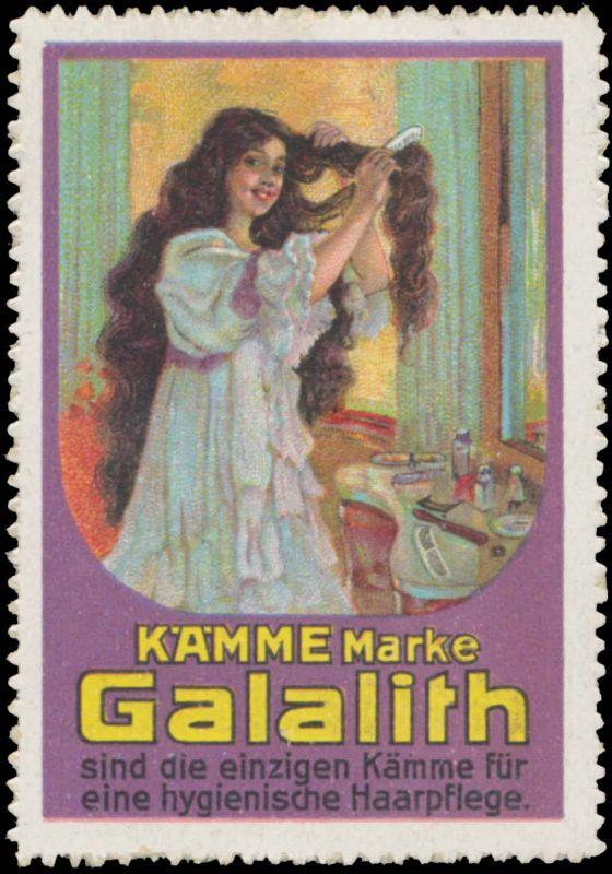 Kämme Marke Galalith