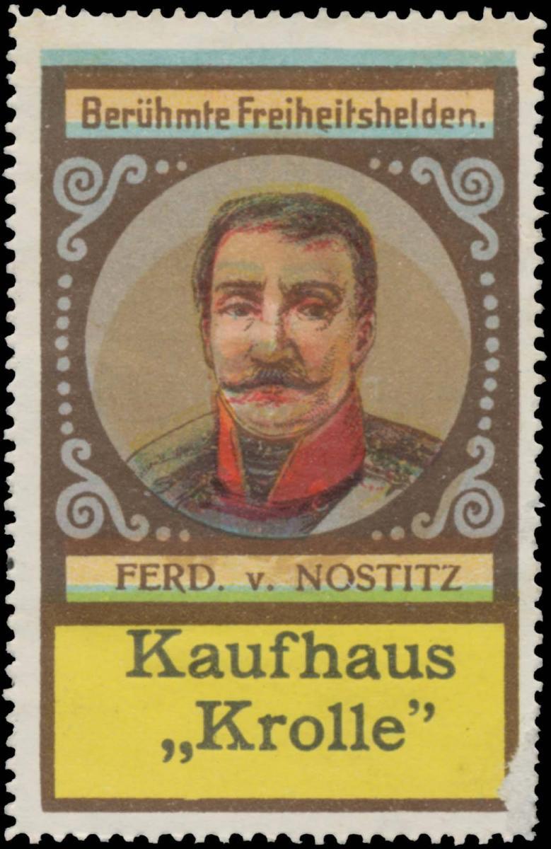 August Ludwig Ferdinand Graf von Nostitz-Rieneck