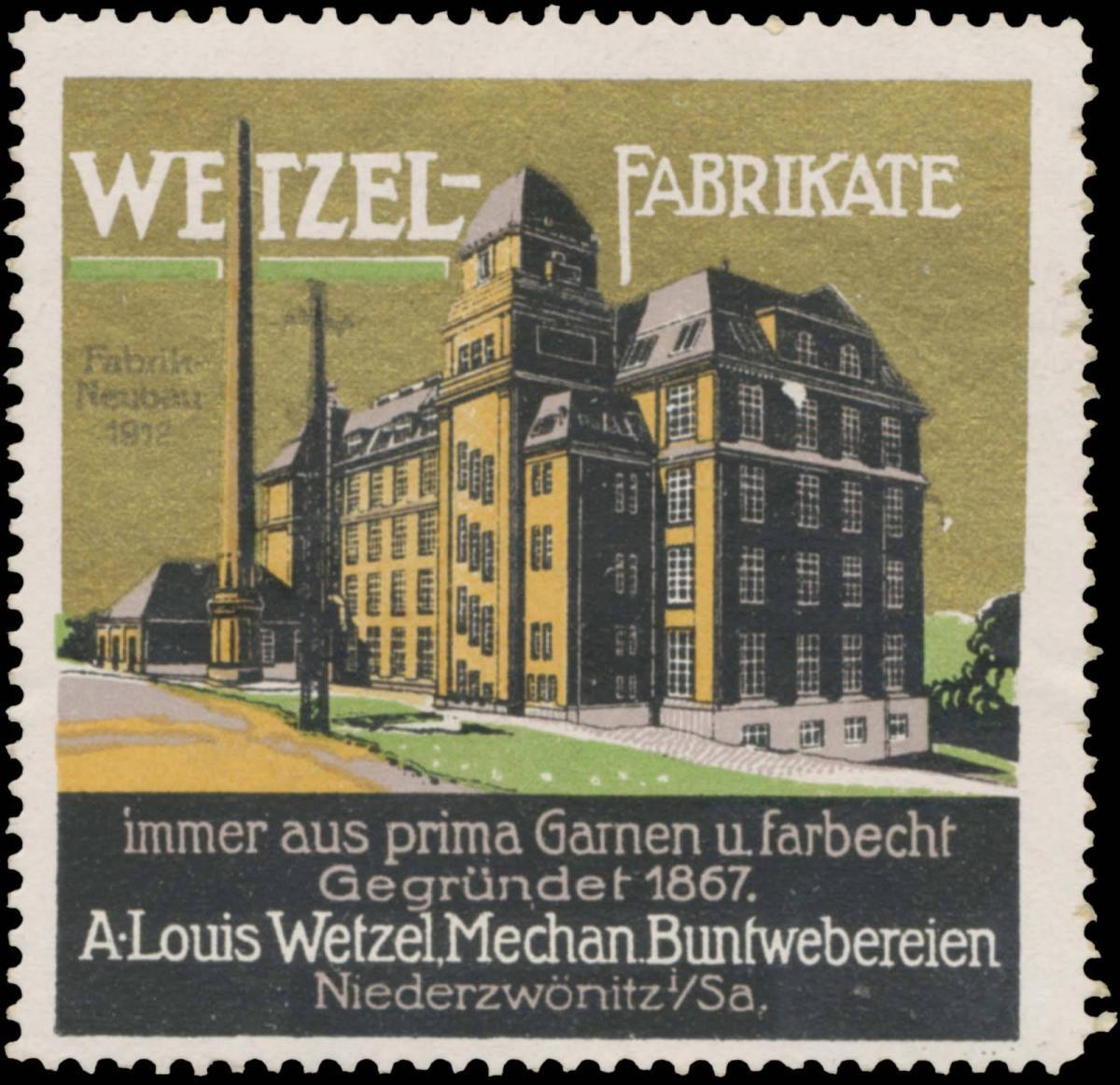 Wetzel-Fabrikate