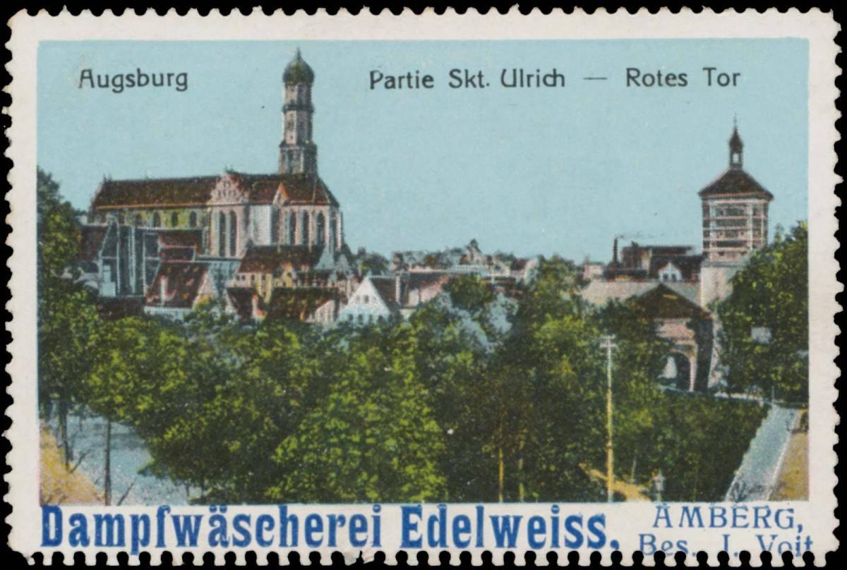 Partie Skt. Ulrich - Rotes Tor in Augsburg