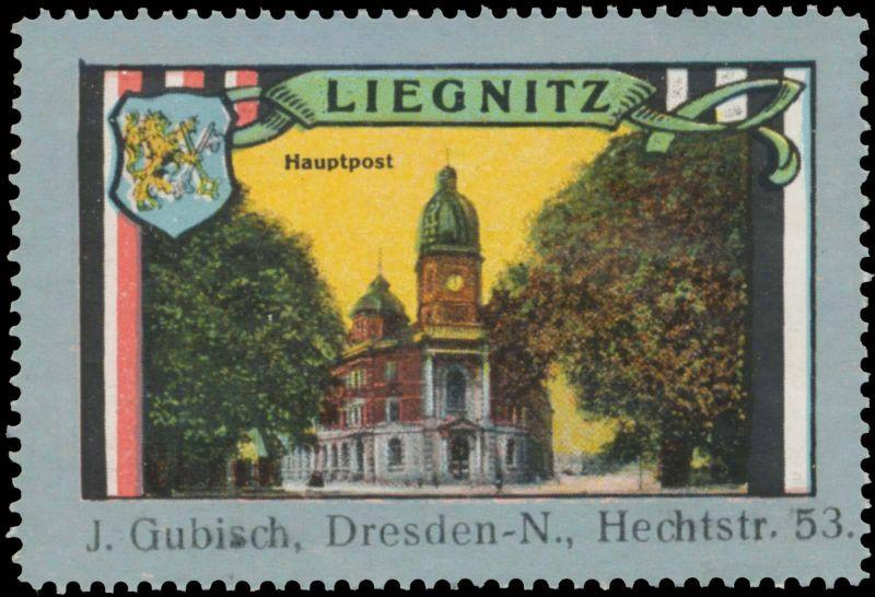 Hauptpost von Liegnitz