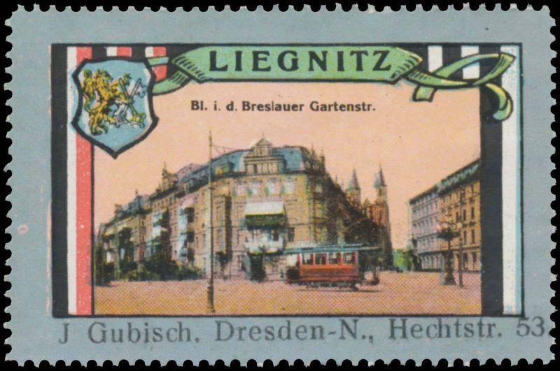 Breslauer Gartenstraße in Liegnitz