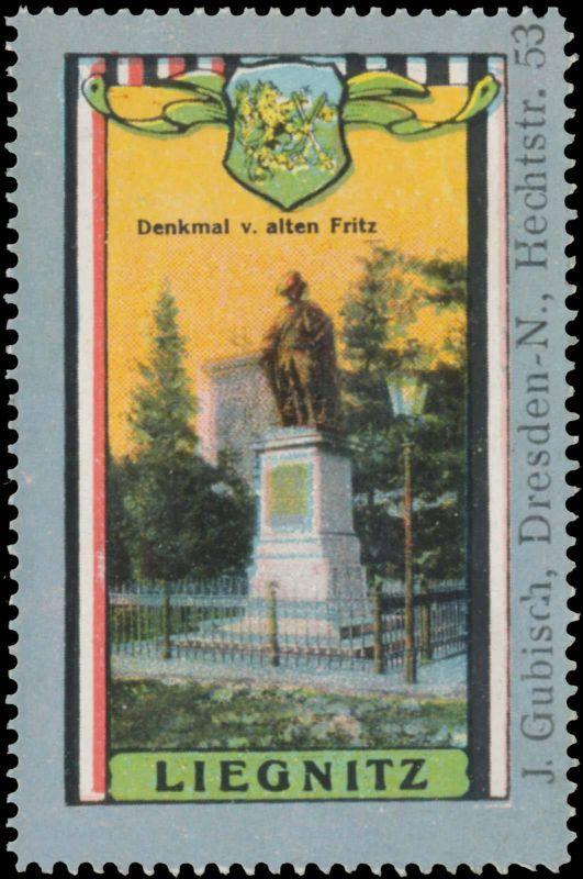 Denkmal vom alten Fritz in Liegnitz