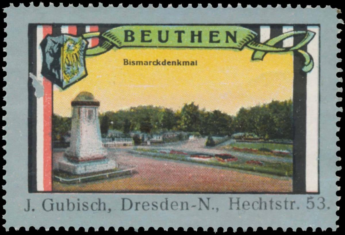 Bismarckdenkmal in Beuthen