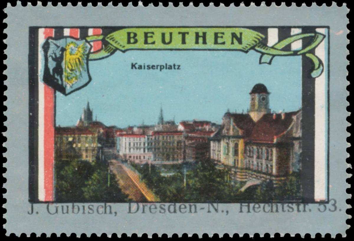 Kaiserplatz von Beuthen