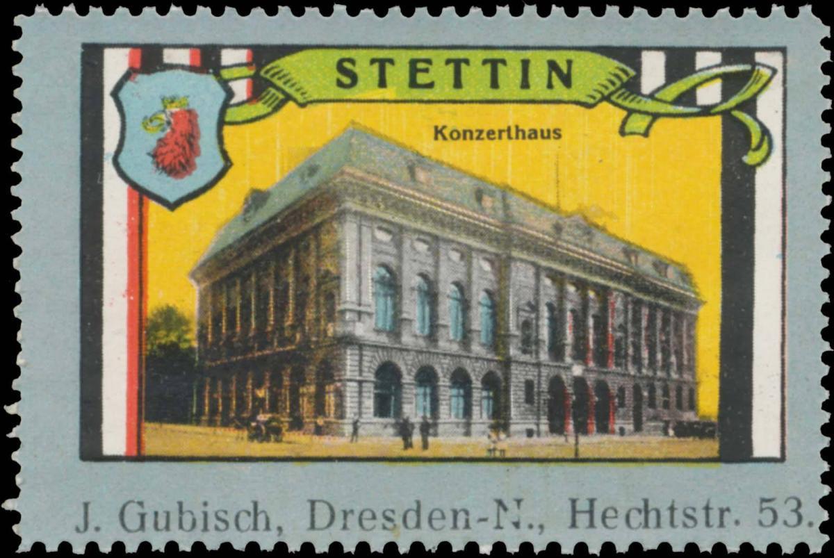 Konzerthaus in Stettin