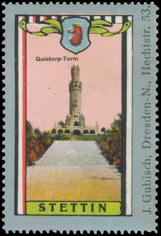 Quistorp-Turm in Stettin