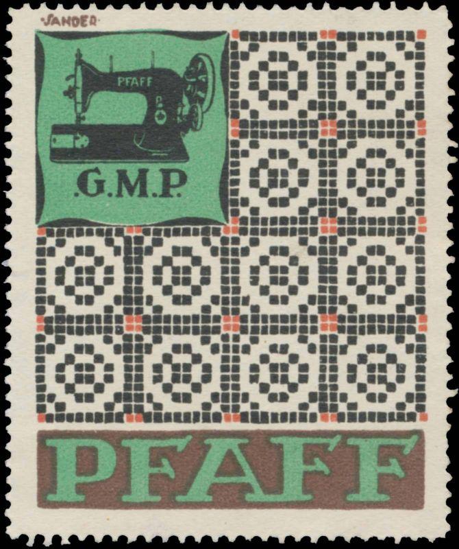 G.M.P. Pfaff Nähmaschine