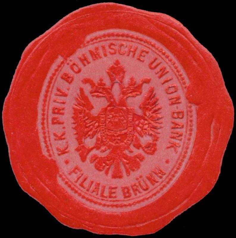 K.K. priv. Böhmische Union Bank