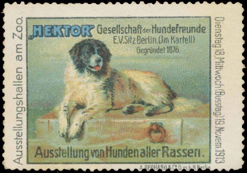 Ausstellung von Hunden aller Rassen