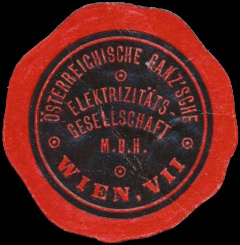 Österreichische Ganzsche Elektrizitätsgesellschaft