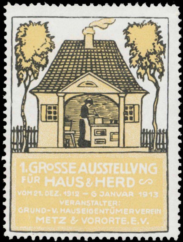 1. Grosse Ausstellung für Haus & Herd