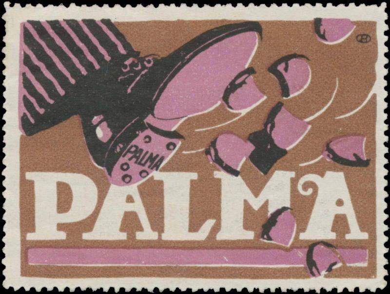 Herrenschuhe mit Palma Schuhabsatz