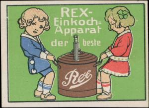 Rex-Einkochapparat der beste