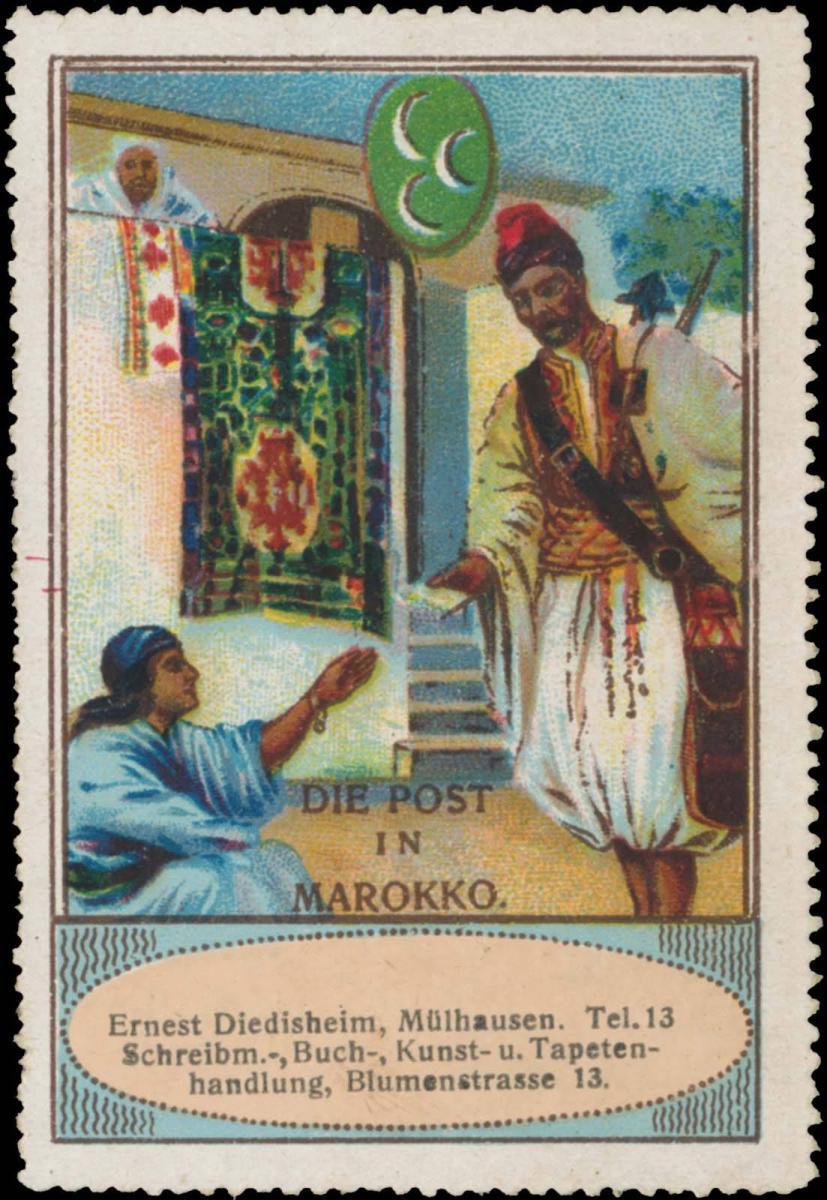 Die Post in Marokko