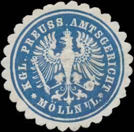 K.Pr. Amtsgericht Mölln i/L.