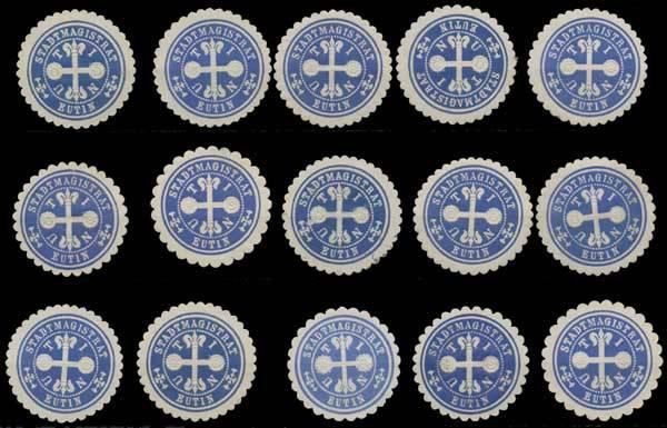 Eutin Sammlung Siegelmarken