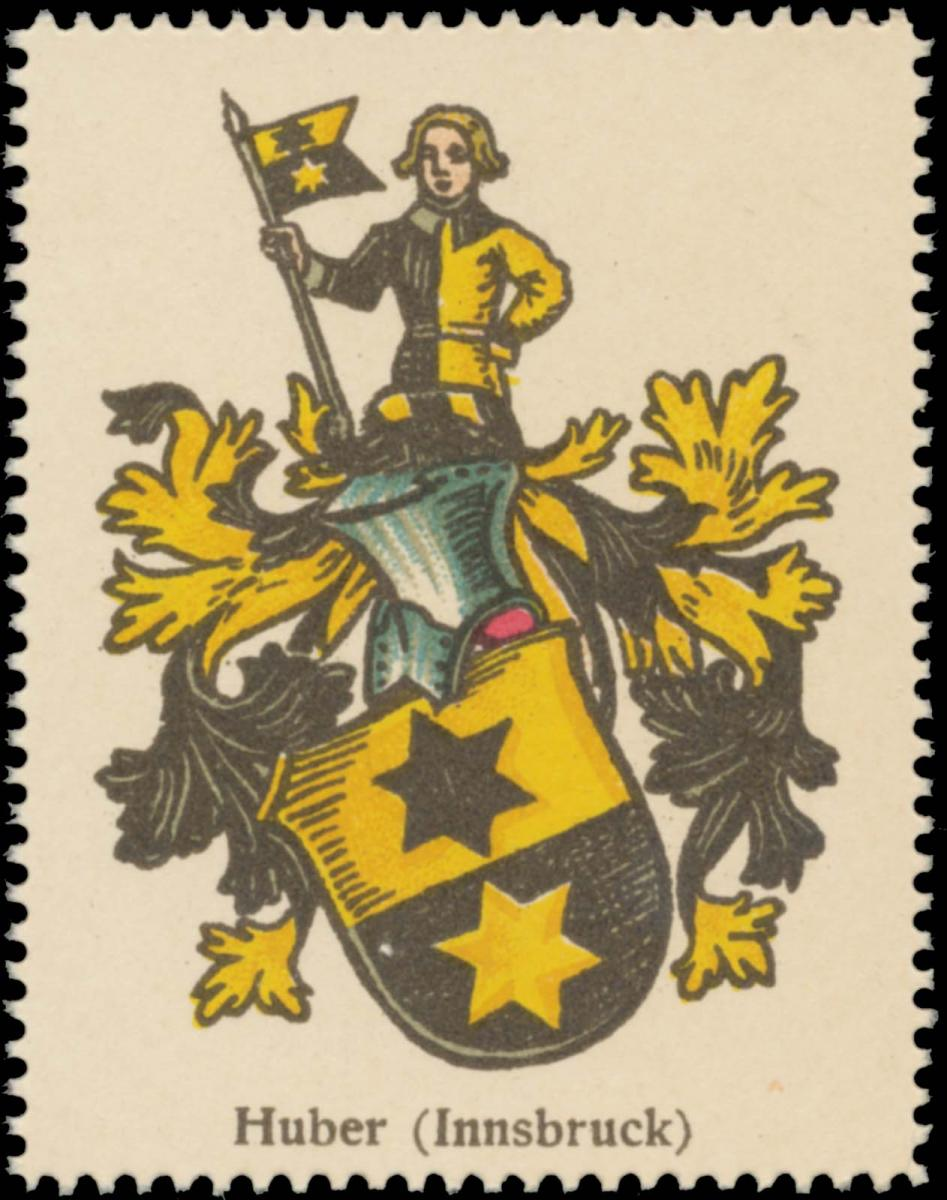Huber (Innsbruck) Wappen