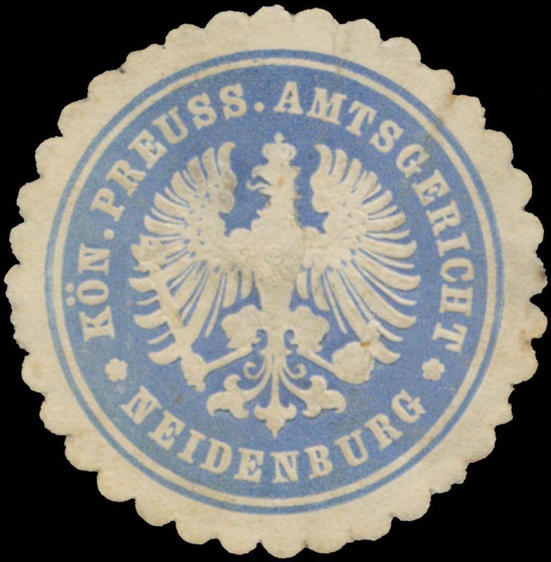 K.Pr. Amtsgericht Neidenburg 0