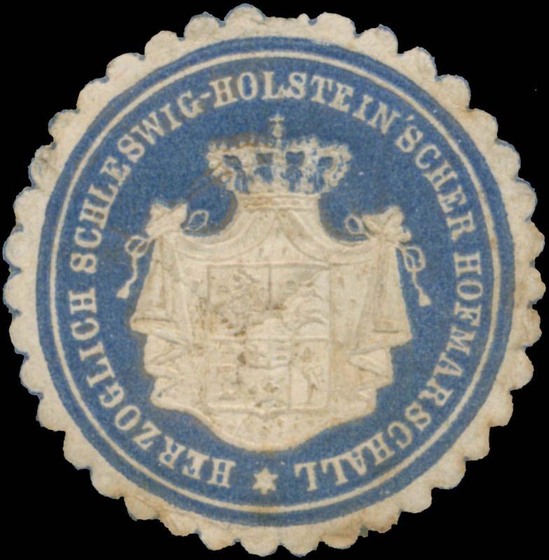 Herz. Schleswig-Holsteinscher Hofmarschall 0