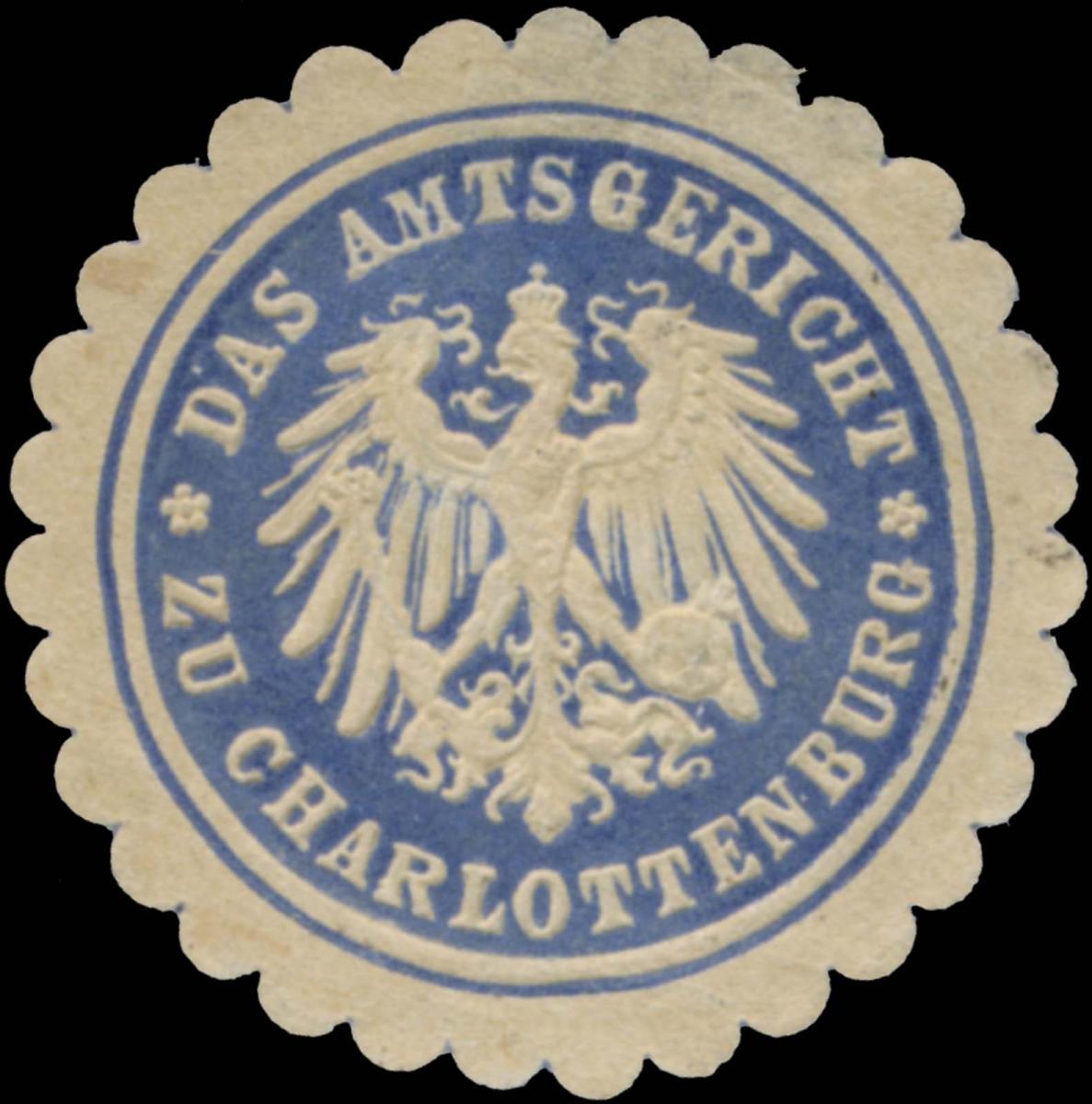 Das Amtsgericht zu Charlottenburg