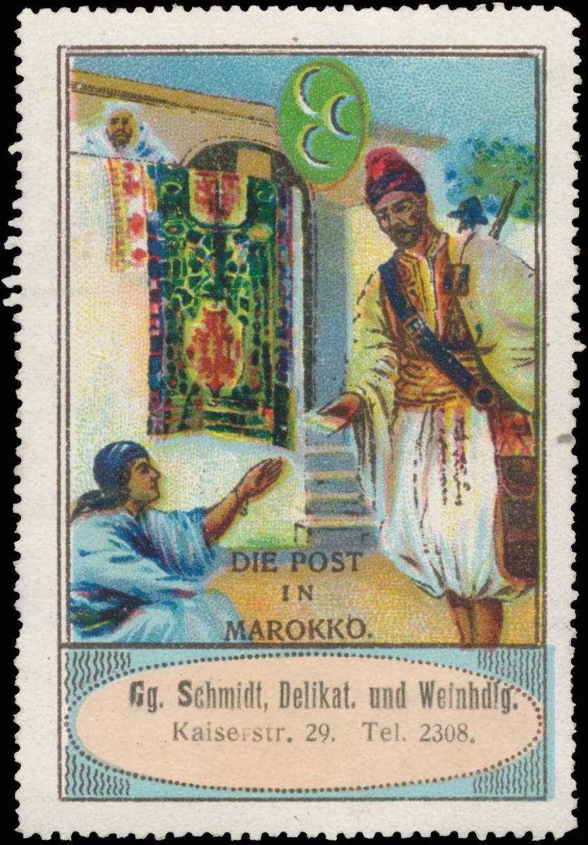 Die Post in Marokko 0