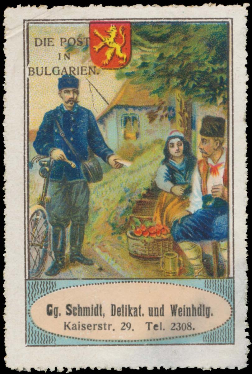 Die Post in Bulgarien 0