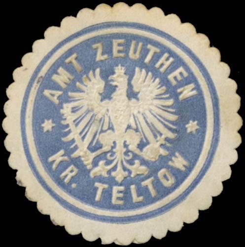 Amt Zeuthen Kreis Teltow