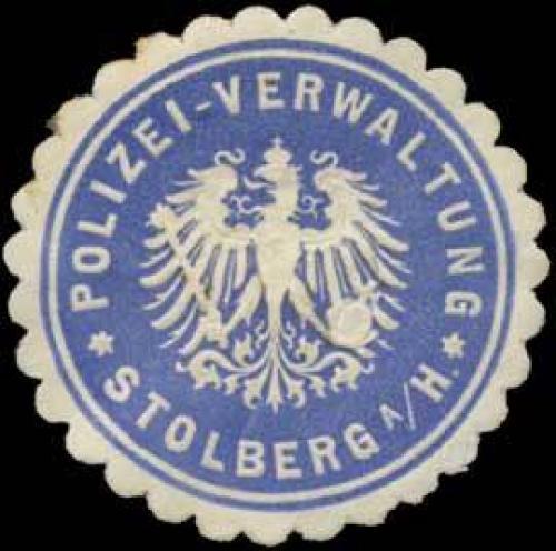 Polizei-Verwaltung Stolberg am Harz