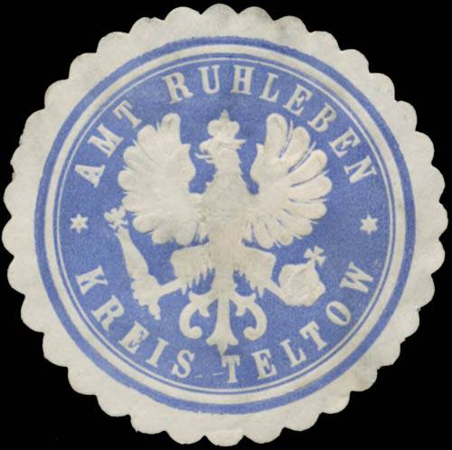 Amt Ruhleben Kreis Teltow