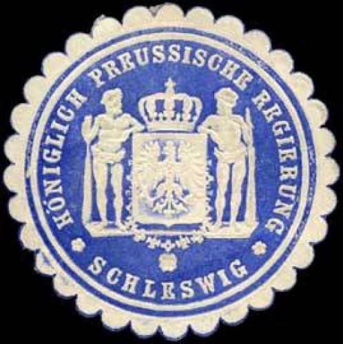 Königlich Preussische Regierung Schleswig