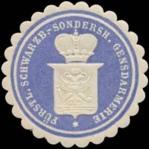 Fürstl. Schwarzb. Sondersh. Gensdarmerie (Polizei)