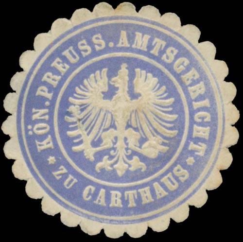 K.Pr. Amtsgericht zu Karthaus/Pommern