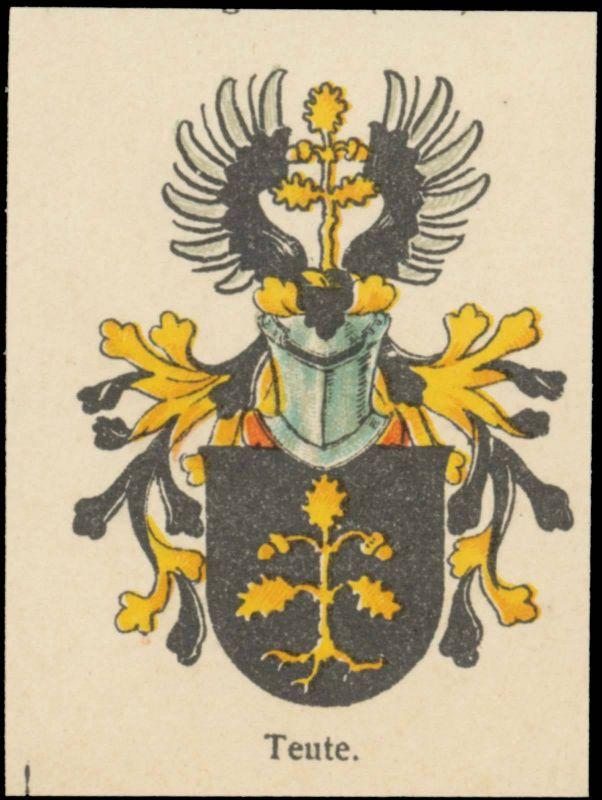 Teute Wappen